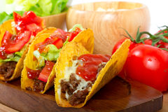 burrito μεξικανός Στοκ Εικόνες