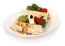 Burrito Royalty-vrije Stock Foto's