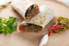 Burrito Photos libres de droits