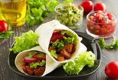 burrito Images stock