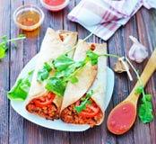 burrito Стоковая Фотография