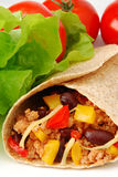 Burrito Royalty Free Stock Photo