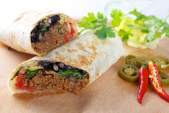 Burrito Royalty Free Stock Photography