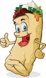 Burrito Character Thumbs Up Stock Photos