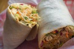 Burrito coréen de Bibimbap photo libre de droits