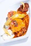Burrito da galinha Fotografia de Stock