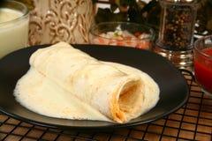 Burrito da galinha imagem de stock