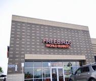 Burrito del mundo de Freebirds, Murfreesboro, TN Fotografía de archivo libre de regalías