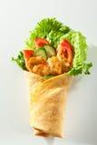 Burrito del pollo imagenes de archivo