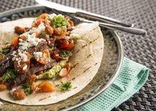 Burrito di manzo Immagine Stock