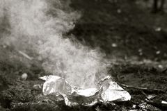 Burrito Lunch Royalty Free Stock Photography