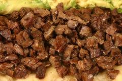 Burrito mexicano imagen de archivo libre de regalías
