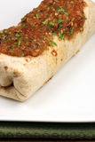 Burrito mexicano quente imagens de stock royalty free