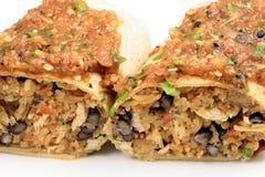 Burrito mexicano quente Fotografia de Stock Royalty Free
