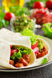 Burrito with pork Royalty Free Stock Image