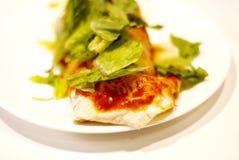 Burrito pour le déjeuner photo libre de droits