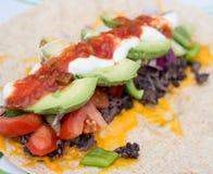 Burrito saudável do feijão Fotos de Stock