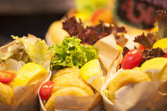 Burrito stall Stock Photography