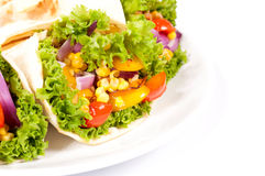 Burrito wrap Royalty Free Stock Photos