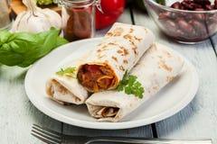 burritos мексиканские Стоковые Фото