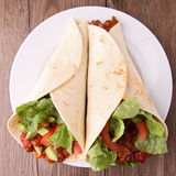 Burritos Fotografia de Stock Royalty Free