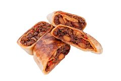 Burritos Lizenzfreies Stockbild