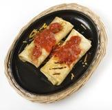 Burritos mexicanos Imagen de archivo