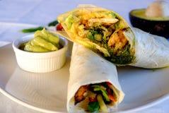 Burritosomslagen stock fotografie