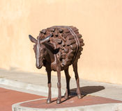 Burro Alley, Santa Fe Royalty Free Stock Images