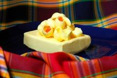 Burro & caviale Fotografie Stock Libere da Diritti