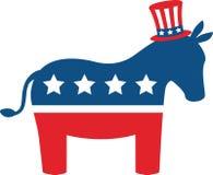 Burro de Demócrata Imagen de archivo libre de regalías