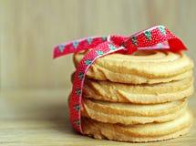 Burro dei biscotti di Natale Immagine Stock Libera da Diritti