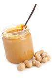 Burro di arachide Fotografia Stock