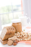 Burro di arachide Immagini Stock