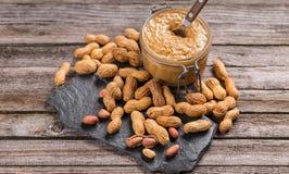 Burro di arachide Immagine Stock Libera da Diritti