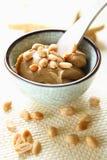 Burro di arachide Fotografie Stock Libere da Diritti