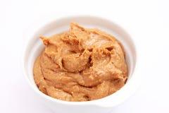 Burro di arachidi Fotografia Stock