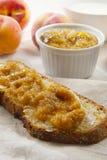 Burro Fetta di pane marmellata Lizenzfreie Stockfotografie