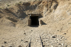 Burro Schmidt Tunnel Royalty Free Stock Photos