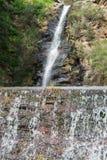 Burrone della cascata Fotografia Stock Libera da Diritti