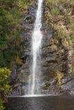 Burrone della cascata Fotografie Stock