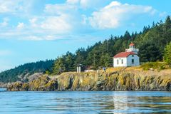 Burroughs Island Lighthouse Stock Photography