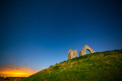 Burrow Mump by Night Royalty Free Stock Photos