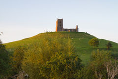Burrow Mump Somerset Royalty Free Stock Image