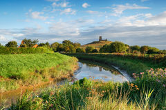 Burrow Mump in Somerset Royalty Free Stock Images