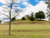 Burrow Mump Somerset England. Burrow Mump is a hill and historic site overlooking Southlake Moor in Burrowbridge Taunton Somerset, England Stock Photography