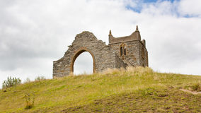 Burrow Mump Somerset England Stock Photo