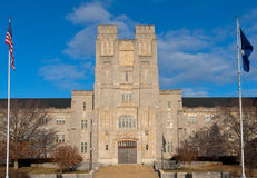 Burruss Hall Stock Images