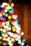 Burry Christmas Tree Royalty Free Stock Photo