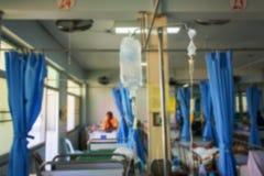 Burry delle stanze pazienti fotografie stock libere da diritti